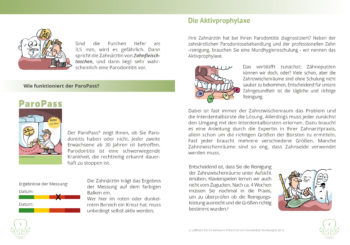 Parodontitis Broschüre Seiten