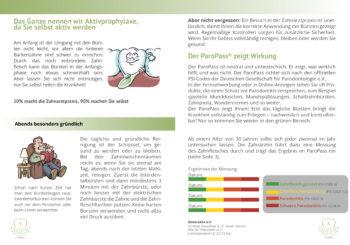 Parodontitis Broschüre Inhalt