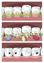 Stoppt Parodontitis Poster
