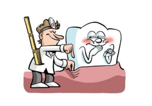 Zahnfleischtaschen messen, Die Zahnfleischtaschen dürfen nicht tiefer als 3,5mm sein