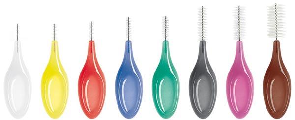 Interdentalbürsten in verschiedenen Größen von Oral Prevent©