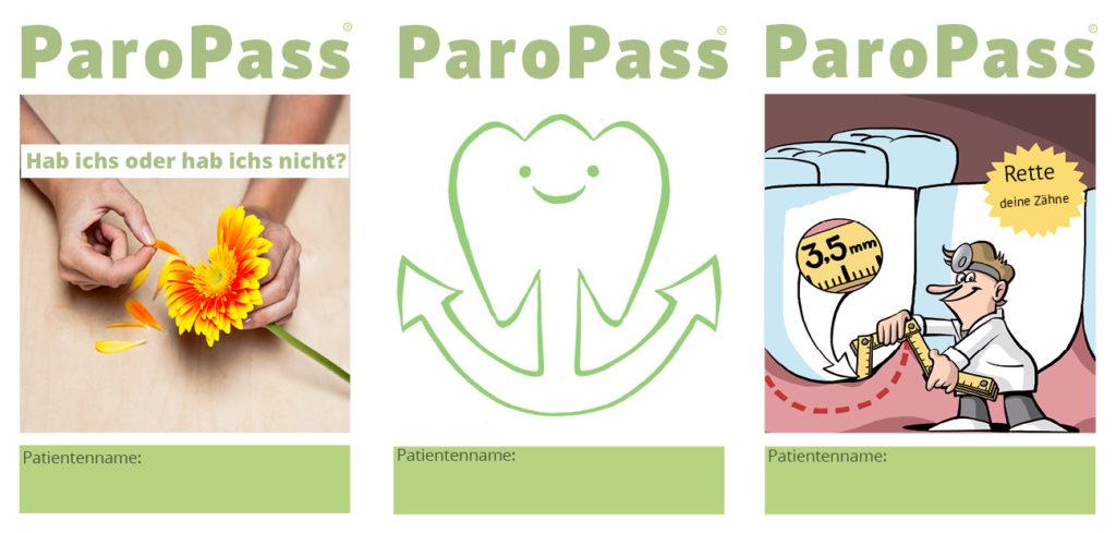 ParoPass Motive in der Übersicht