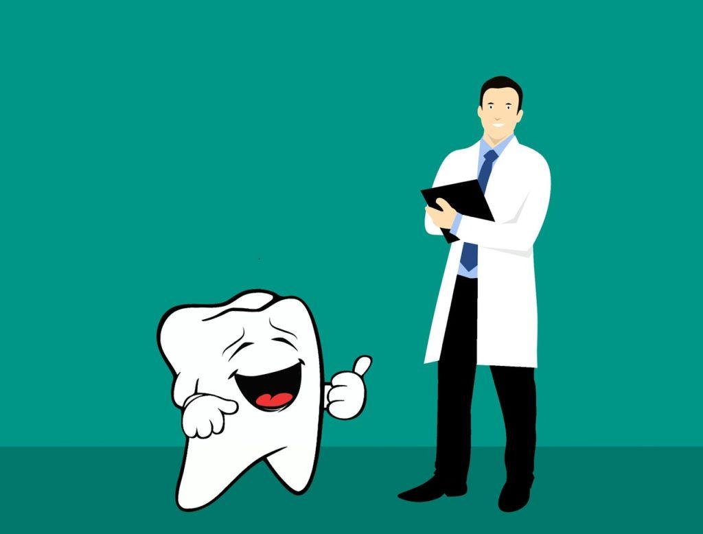 Zahn Zahnarzt Comic