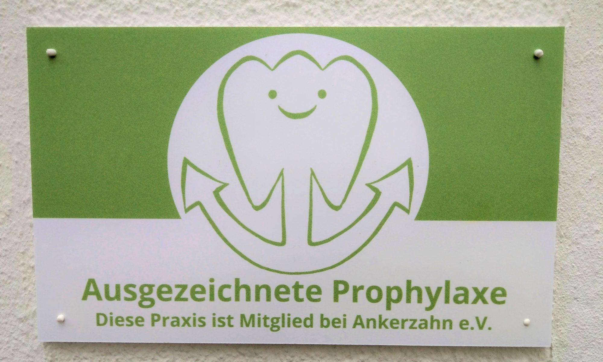 Ausgezeichnete Prophylaxe
